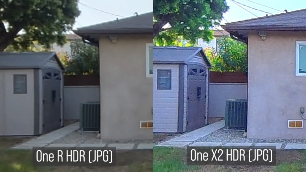 One R HDR (JPG) vs One X2 HDR (JPG)