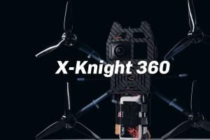360 camera drone: BetaFPV X-Knight 360
