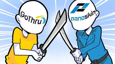 Best Street View virtual tour publisher: Gothru vs Panoskin