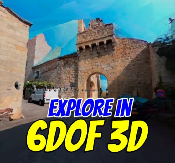 Creating 3D models from 360 videos
