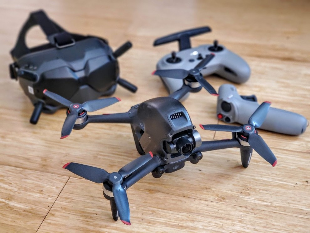 DJI FPV is the world's first GPS-assisted FPV drone