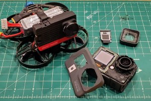 Naked action cams are action cams stripped down to credit card size cameras