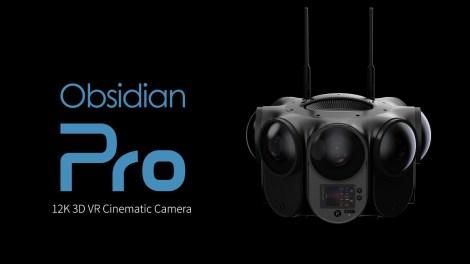 Kandao Obsidian Pro 12K 3D 360 camera