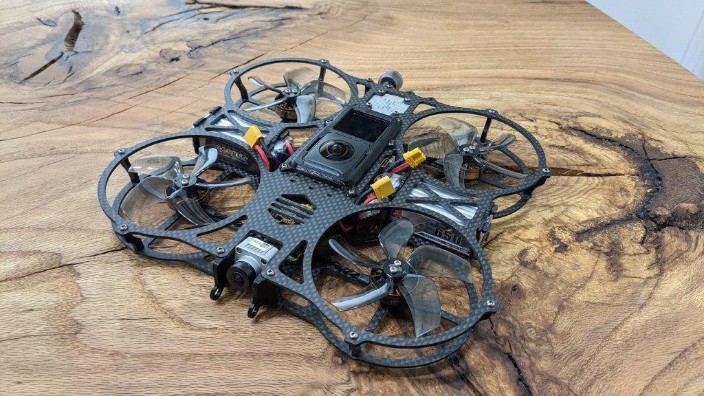 Newbeedrone Invisi360 invisible 360 camera drone - photo by Limitless Sky Media