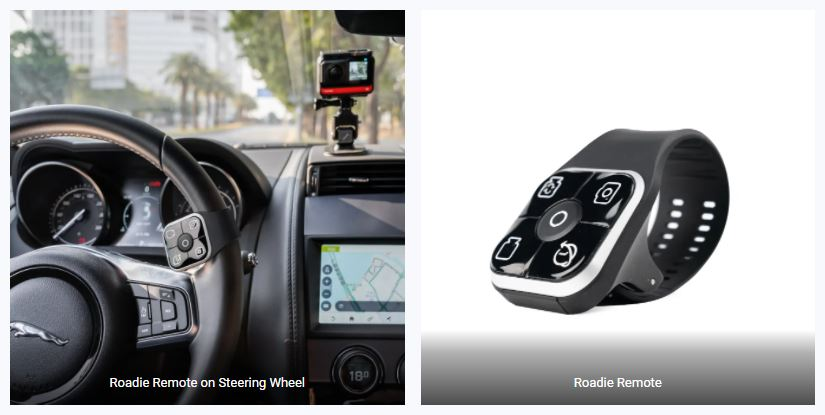 Insta360 Roadie Remote keeps your eyes on the road