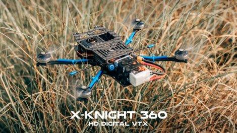 $100 off the X-Knight 360 invisible 360 camera drone!