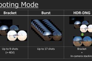 Dual Fisheye Raw plugin supports bracketing, burst, and HDR-DNG mode
