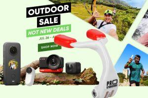 Insta360 discounts in Summer Outdoor Sale