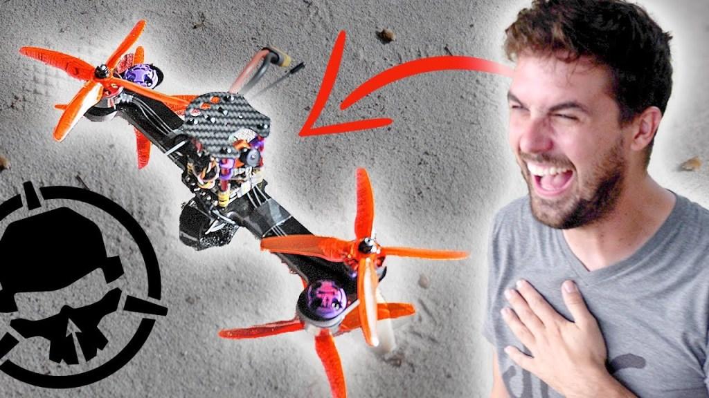 Bone Drone: a bizarre stick drone