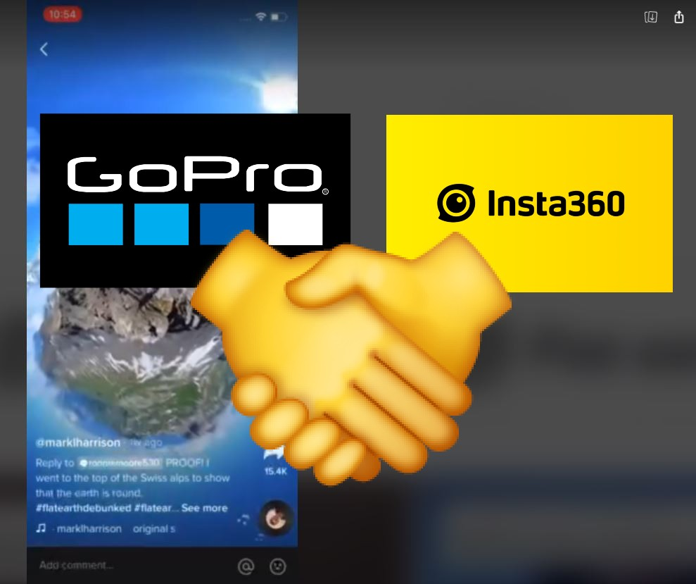 GoPro gives props to Insta360 video