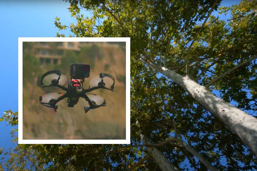Spydr MOJO pivot drone gets amazing shots