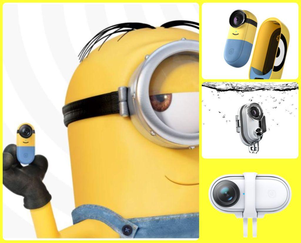 New Insta360 Go 2 Minions Edition, plus 2 new accessories