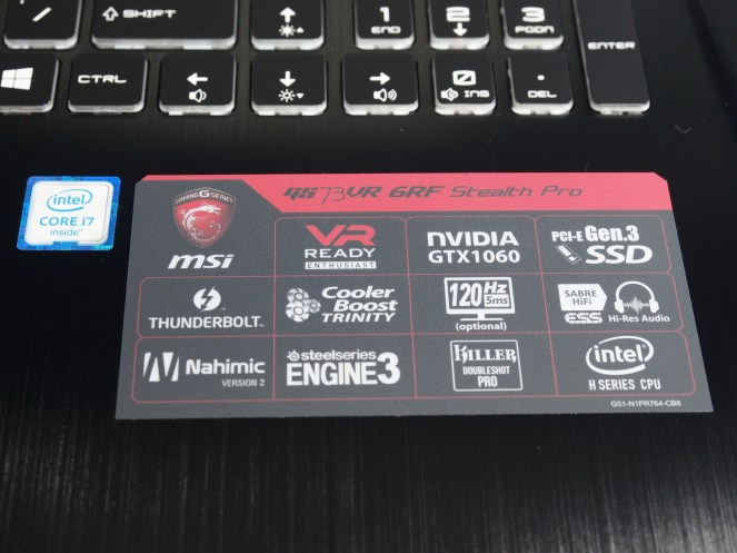 Specs to make the geek salivate