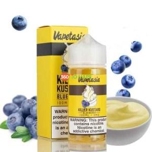 Blueberry Kustard vapetasia