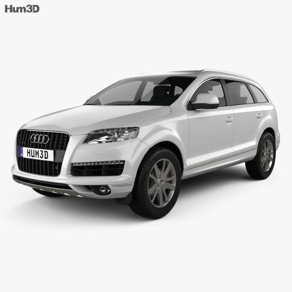 Audi Q7 2010 3D model - Vehicles on Hum3D