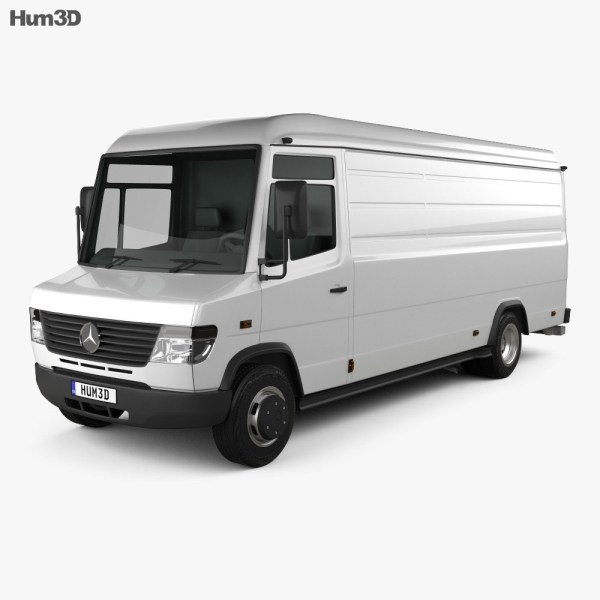 Mercedes-Benz Vario Panel Van LWB High Roof 2011 3D model ...