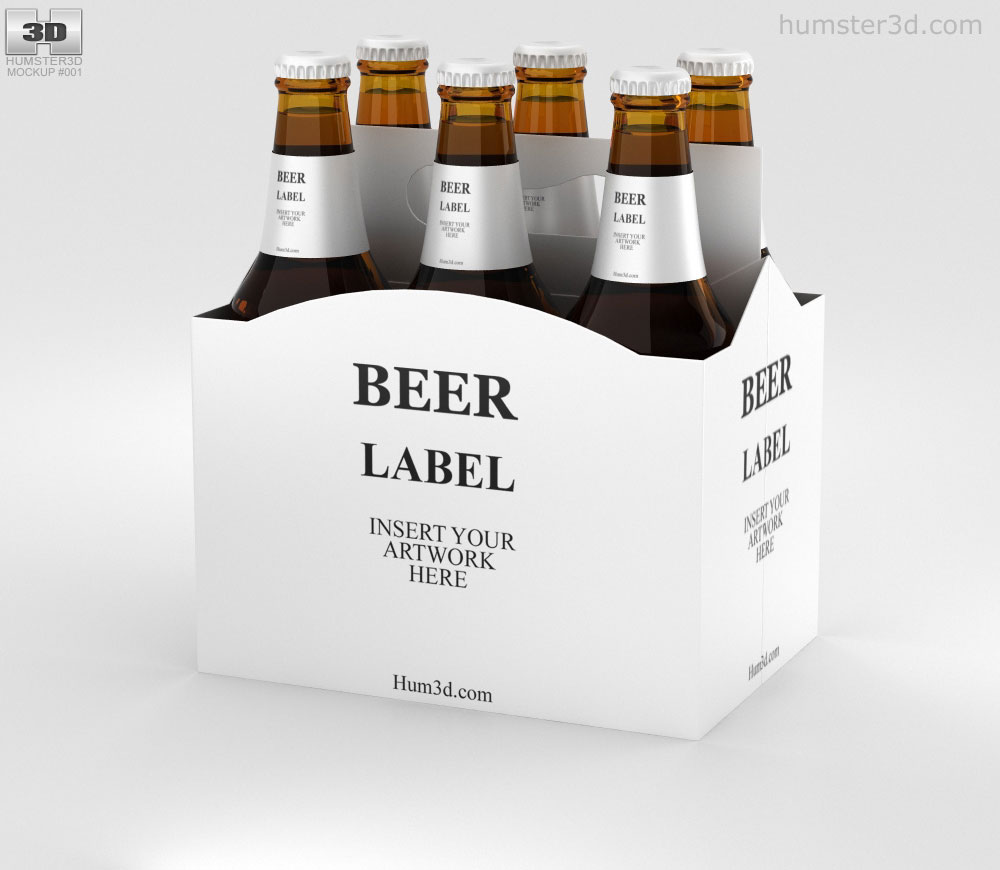 Download Beer Box Mockup - Free Download Mockup