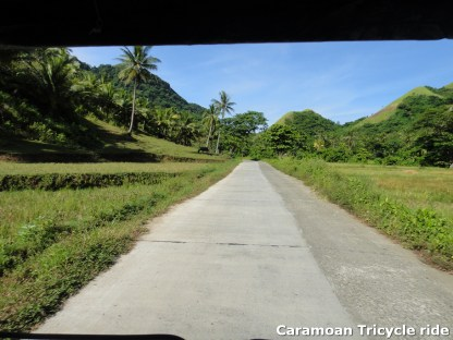 Caramoan Tricycle Ride