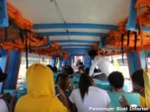 Passenger Boat Interior