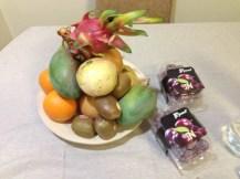 des fruits offert par le taf