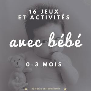 Read more about the article 16 jeux et activités à faire avec bébé (0-3 mois)