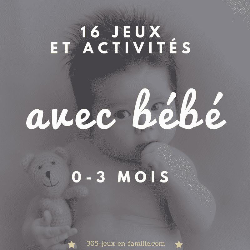 You are currently viewing 16 jeux et activités à faire avec bébé (0-3 mois)