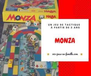 Monza : un jeu de tactique à partir de 5 ans