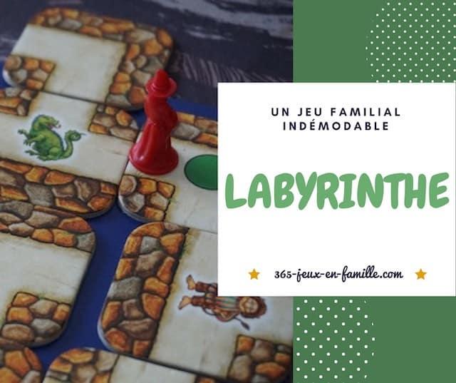 Labyrinthe : un jeu familial indémodable