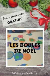 Read more about the article Jeu gratuit : Les boules de noël