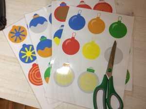 Jeu gratuit : les boules de noël