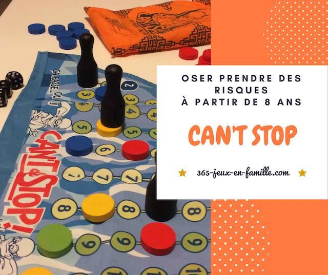 Oser prendre des risques avec le jeu Can't Stop