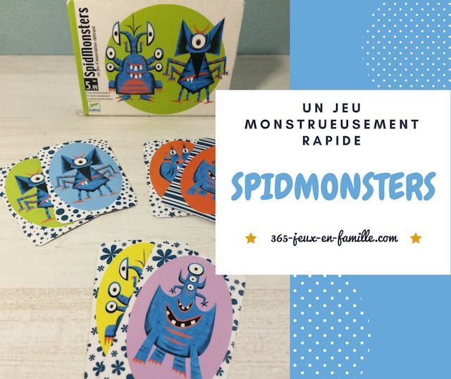 Spidmonsters, un jeu monstrueusement rapide
