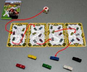 Une course de voitures mentale : San Roberto