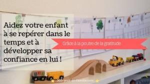 Read more about the article La poutre du temps de la gratitude