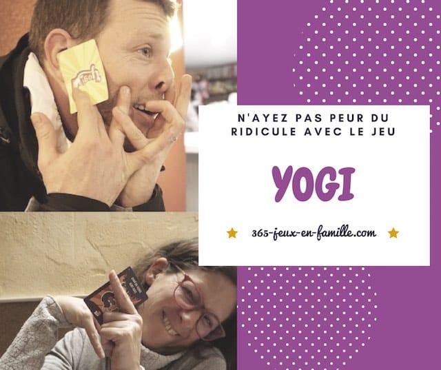 N'ayez pas peur du ridicule avec le jeu Yogi