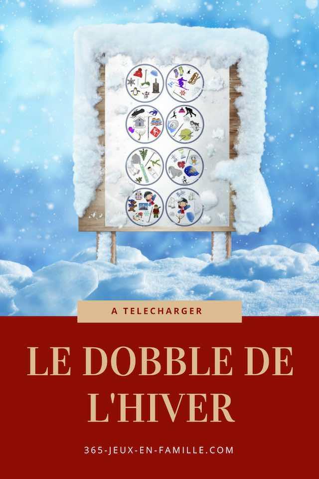 Le Dobble de l'hiver à télécharger
