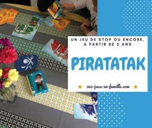 Piratatak : un jeu de stop ou encore à partir de 5 ans