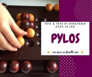 Stratégie et tête à tête avec le jeu Pylos