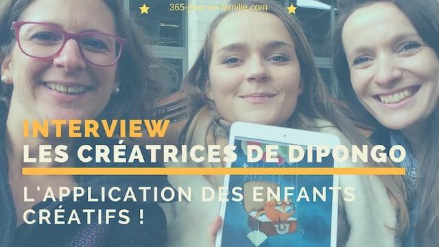 You are currently viewing Dipongo : une application pour enfants créatifs !