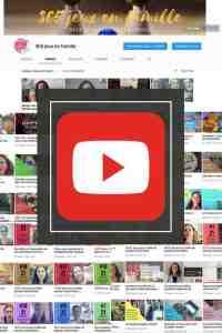 365-jeux-en-famille.com, la chaîne youtube