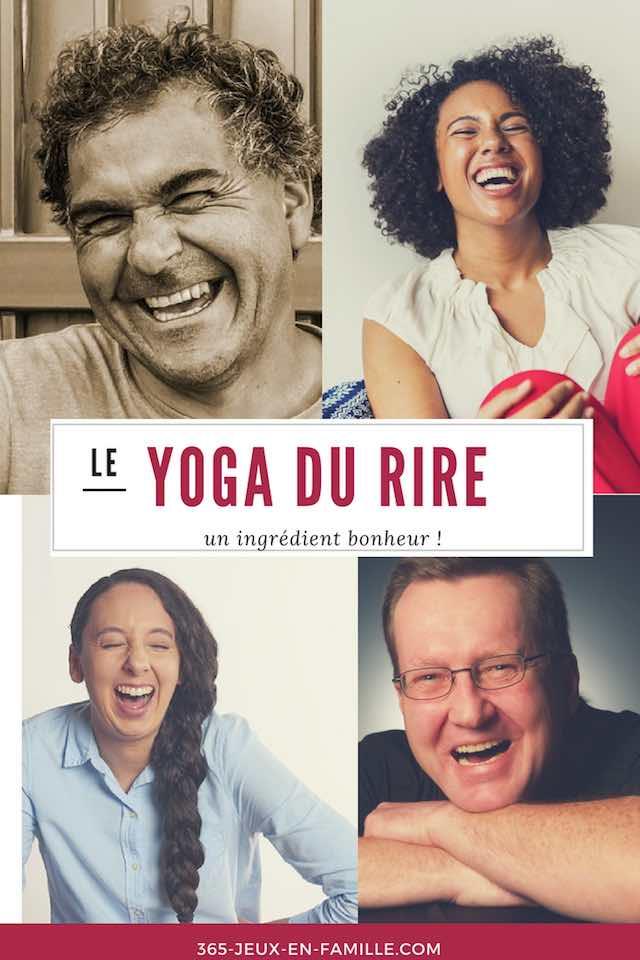 Yoga du rire : un ingrédient bonheur