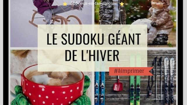 You are currently viewing Le sudoku de l'hiver géant à télécharger !
