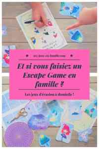 Et si vous faisiez un Escape Game en famille ?