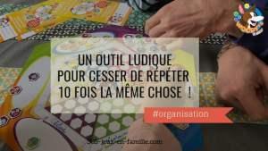Read more about the article Un outil ludique pour cesser de répéter 10 fois la même chose !