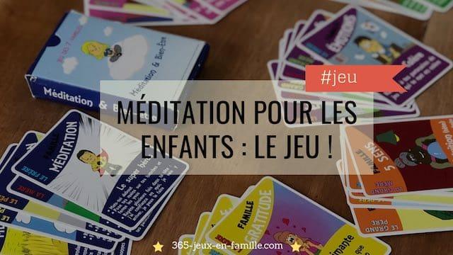 You are currently viewing Méditation pour les enfants : le jeu !