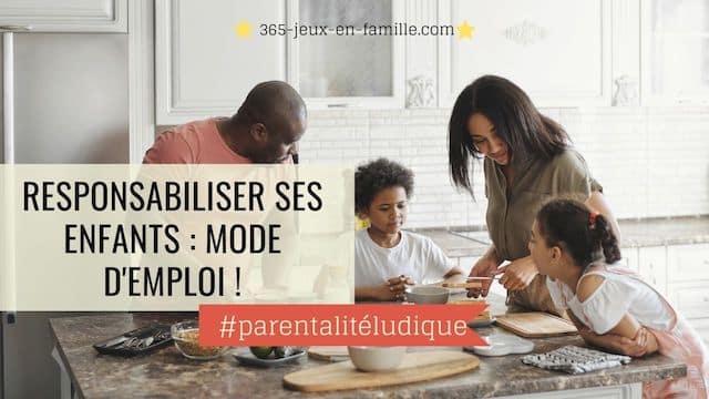You are currently viewing Responsabiliser ses enfants : une nouvelle organisation familiale !