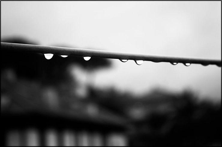 Piove, senti come viene giù