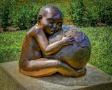 Child with Mother - Rosemary Barrett