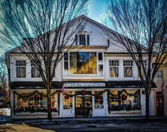 Once upon a time Norman Rockwell's studio occupied the second floor above the Stockbridge General Store