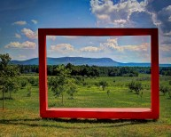 Mount Tom in Big Red Frame